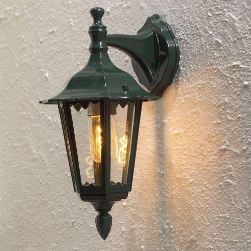 Klassieke buitenlamp fire in de kleuren wit zwart en groen deco rustique be - Deco huis exterieur ...