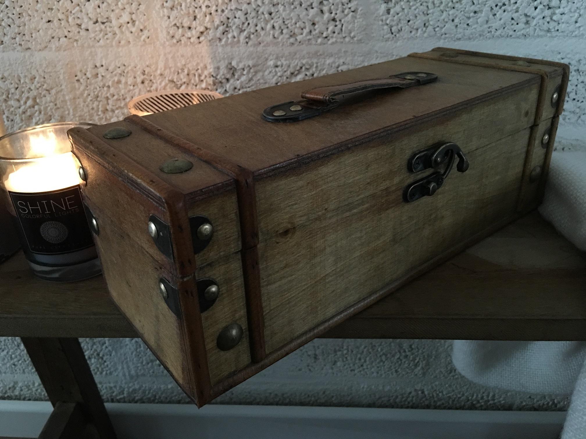 Tags borst houten kist houten kist opslag schatkist houten doos houten doos borst for Deco houten huis
