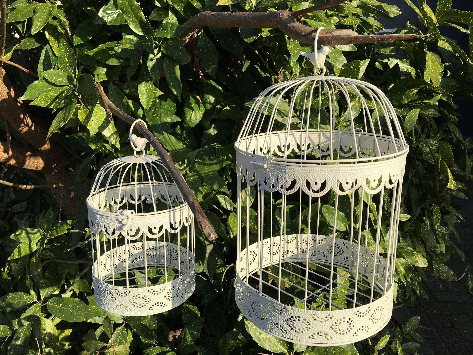 Kooien vogelhuisje sieraden kooi vogelkooien decoratief kooien metalen bloem opknoping - Deco kooi trap ...