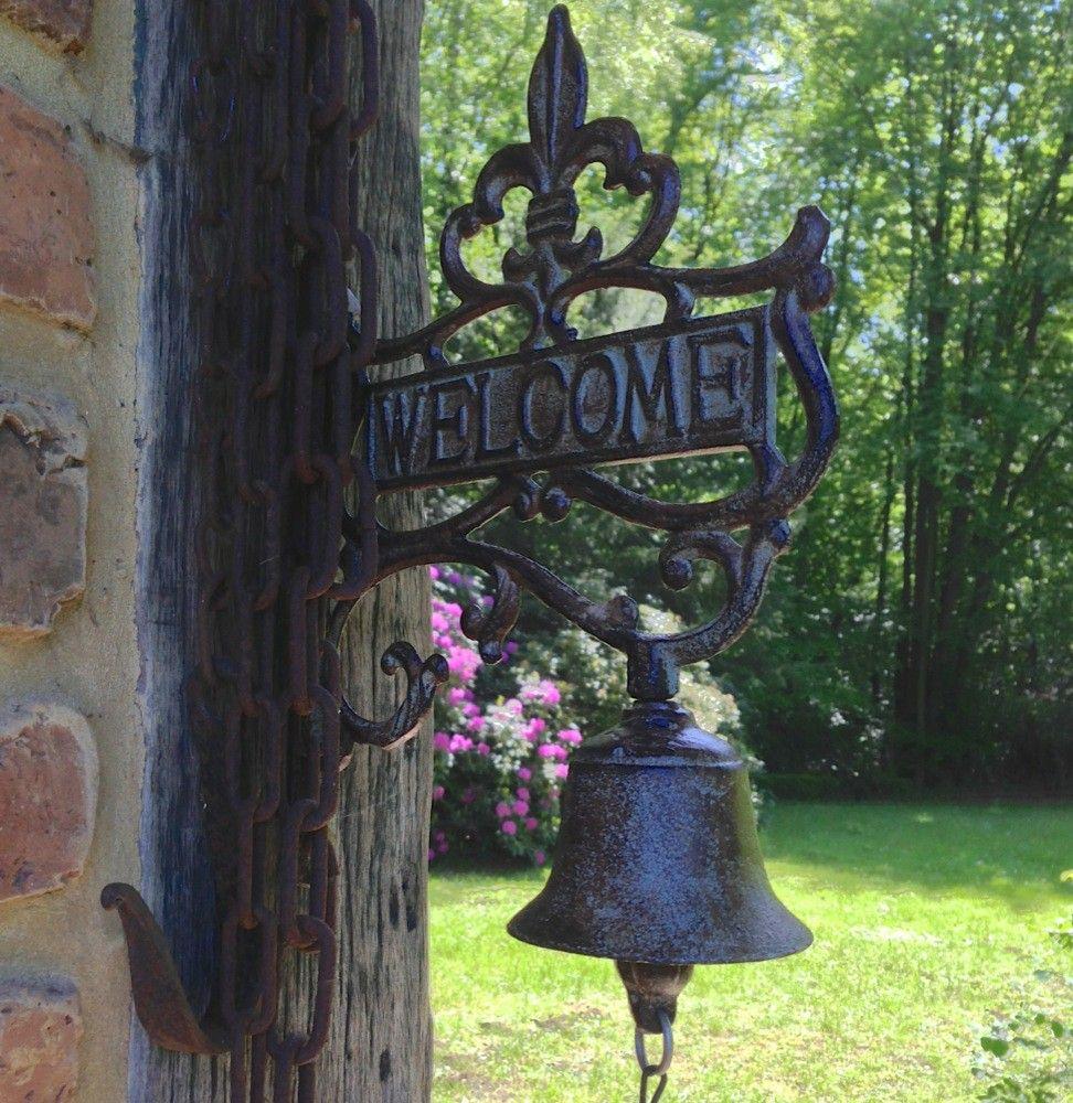 Tags bel deur muur klok deurbel tuin bel welkom bel voor tuinhuis deur decoratie - Deco huis exterieur ...
