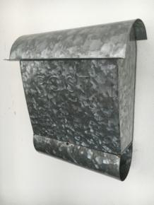 Tags decoratie zink antiek brievenbus grijs nostalgie landhuis landelijke stijl mailbox - Deco huis exterieur ...