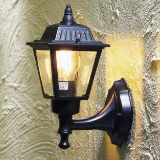 Klassieke wandlamp pi kleur wit en zwart deco rustique be - Deco huis exterieur ...