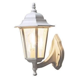 Klassieke wandlamp evia in zwart en wit deco rustique be - Huis deco exterieur ...