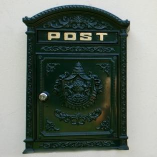 Uw specialist voor decoratie antiek brievenbus nostalgie landhuis landelijke stijl post - Huis deco exterieur ...